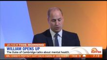 Prince William opens up about mental health struggles