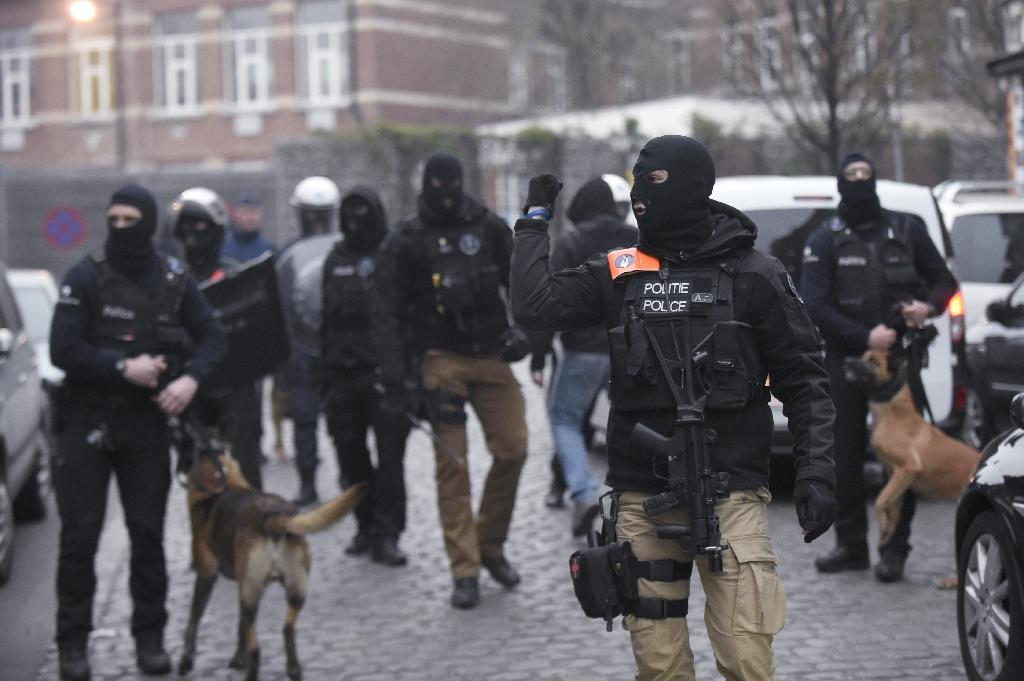 """The foiled Verviers plot has been described as """"the rough draft of Paris"""", referring to the November terror attacks in the French capital (AFP Photo/John Thys)"""
