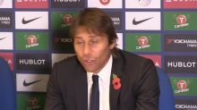 Conte: I don't feel pressure of being sacked