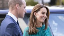 Kate Middleton shines in teal gown to meet the Aga Khan