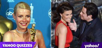 Embarrassing Oscar moments quiz