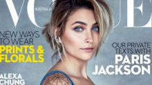 Paris Jackson looks every inch the model on first Vogue cover