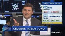 Big pharma on a buying spree as Celgene buys Juno and San...