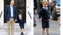 Prince George sparks first fashion frenzy when his school shoes sell out within hours