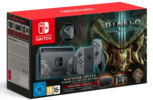 Engadget UK giveaway: Win a 'Diablo III' edition Switch courtesy of Blizzard