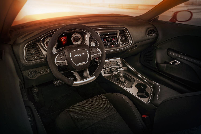 Inside the 2018 Dodge Challenger SRT Demon
