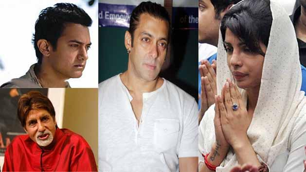 Why is Big B, Aamir & Salman not acknowledging PC's dad's death?