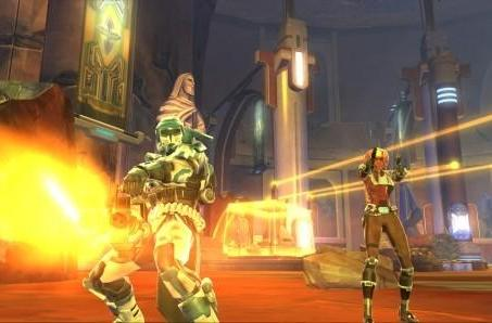 SWTOR companions will have same-sex romance options... eventually