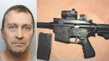 Man jailed for 'using home as a firearms and drugs factory'