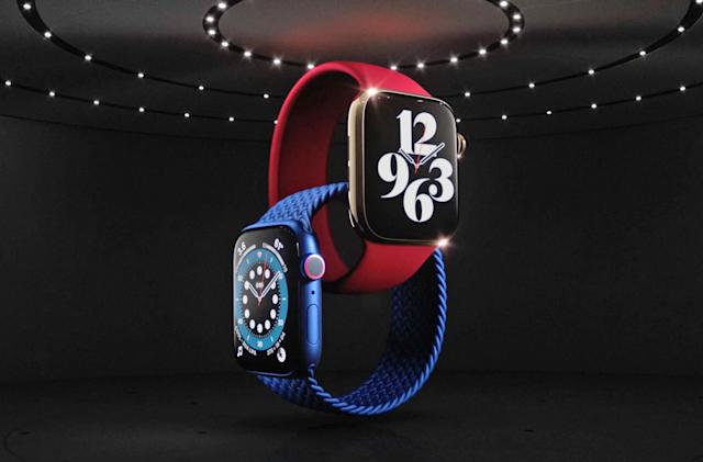 Apple Watch Series 6 adds a new sensor and more power in the same size case