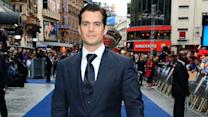 Cavill Brings 'Steel' to Wet London