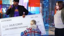Justin Bieber Surprises Fan with $100,000 Check in Support of Her Mental Health Advocacy