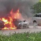 Nairobi hotel attack 'treated as suspected terror attack'