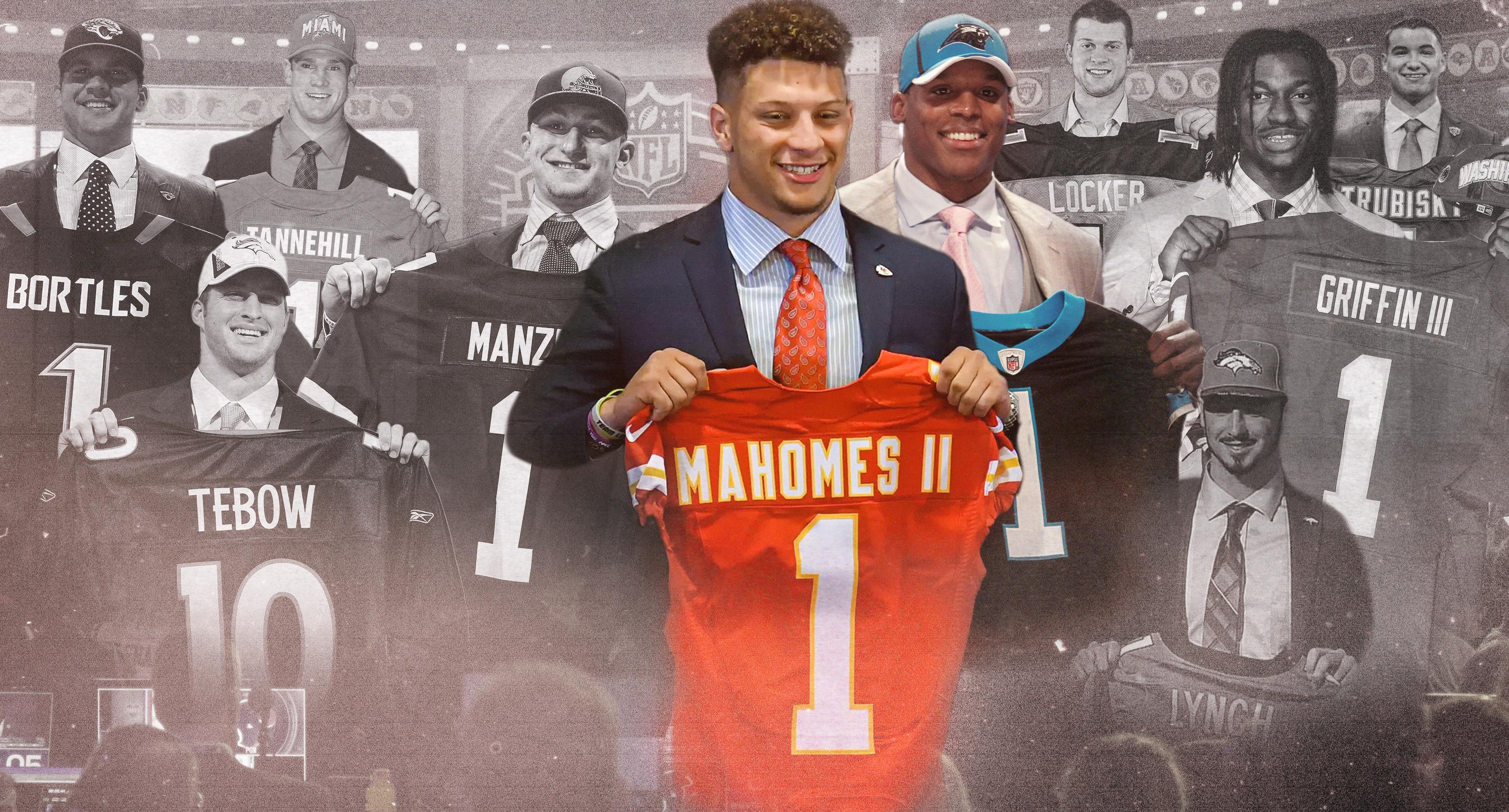 Andrew Blake Five Stars 2 from manziel to mahomes: ranking this decade's first-round