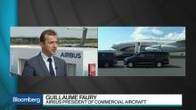 Airbus's Faury Says Open, Free Market Is Essential for Aviation