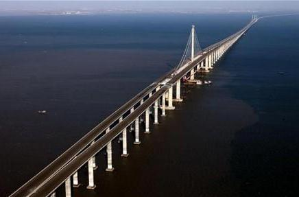 China has built the longest bridge in the world... so you don't have to dig that hole