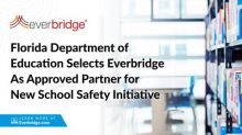 Florida Department of Education Selects Everbridge as Approved Partner for New School Safety Initiative