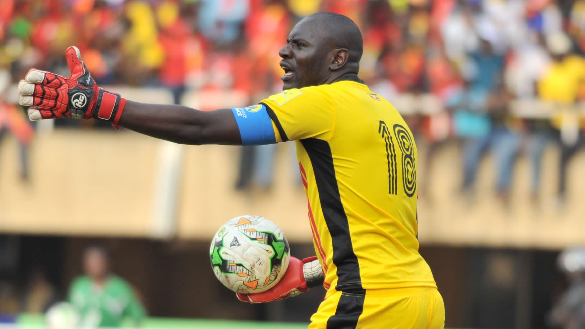 Moses Magogo Hassim. Cranes skipper Denis Onyango is also against Magogo's proposal