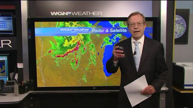 Severe thunderstorm watch in effect for northern Illinois