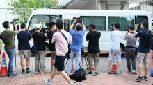 Hong Kong pro-democracy media executives appear in court