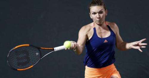 Tennis - WTA - Miami - Miami : Simona Halep file en quart de finale