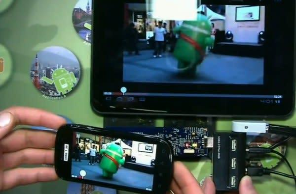 Android 0-click NFC sharing demonstrated in Ice Cream Sandwich (video)