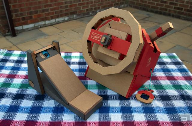 Nintendo Labo Vehicle Kit: Rewarding builds with better games