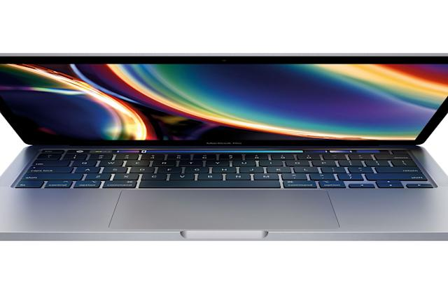 Apple's updated 13-inch MacBook Pro has a new keyboard