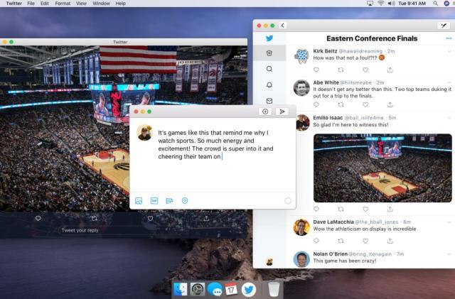 Twitter's Catalyst-powered Mac app is here