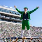 Woman to serve as Notre Dame leprechaun mascot for the first time