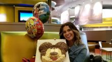 Giovanna Antonelli prova que sabe como curtir o aniversário
