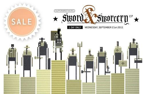 Sword & Sworcery EP and LP on swale today