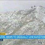 Cold snap: Snow flurries possible for all of Southern California except coast
