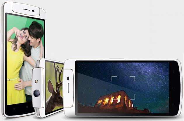 Oppo's N1 Mini makes iPhones look tiny