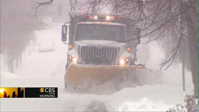 Storm knocks out power for nearly half a million