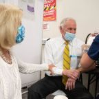 SC Gov. McMaster, first lady get 1st COVID vaccine doses months after positive tests