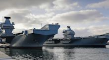 HMS Queen Elizabeth faces a high risk of 'incidents' in the South China Sea