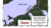 Appia Confirms High Concentrations of Rare Earth Elements and Scandium in Heavy Mineral Sands on Alces Lake Property