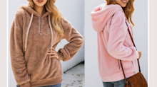 This 'super cute, soft and trendy' hoodie is a winter wardrobe must-have - and only $28