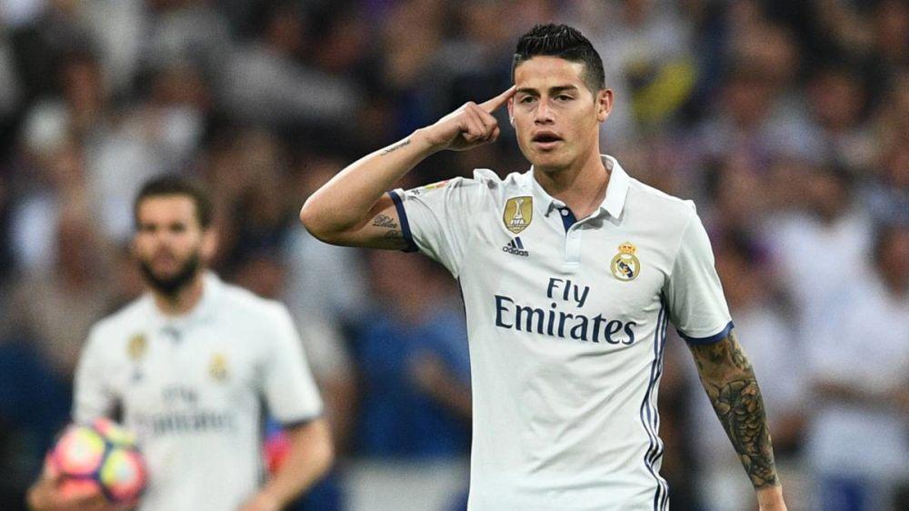 James Rodriguez veut rester au Real Madrid assure sa femme