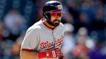 Adam Eaton carried off field with apparent ankle injury