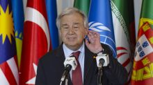 UN chief urges Japan, others to meet goals on climate change