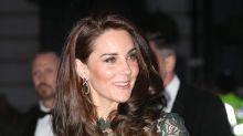 El vestido verde de Kate Middleton