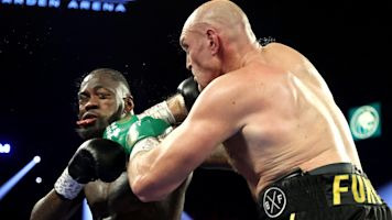 Capture the moment: This pic describes Fury-Wilder