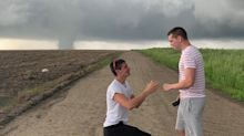 Stormchaser proposes to his boyfriend as tornado looms: 'It was my happiest place'