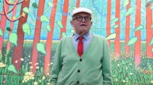 """Hospitalisé dimanche soir après un malaise, le peintre David Hockney """"va bien"""""""