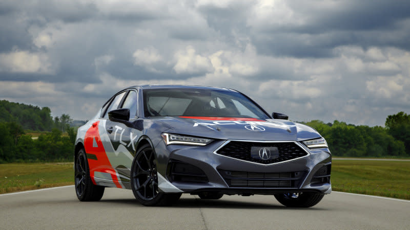 2021 acura tlx types to be powered355horsepower v6