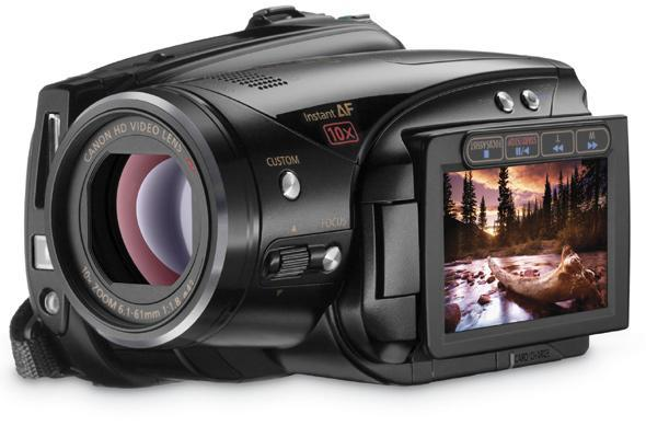 Canon comes clean with HD camcorder lineup at CES 2009