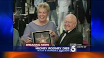 Mickey Rooney, Star of Hollywood`s Golden Age, Dies at 93