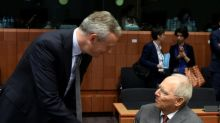 Germany's Schaeuble urges fresh bank rules after Italy crisis